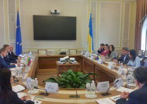 Energetikos ministras Žygimantas Vaičiūnas lankėsi Kijeve | enmin.lt nuotr.