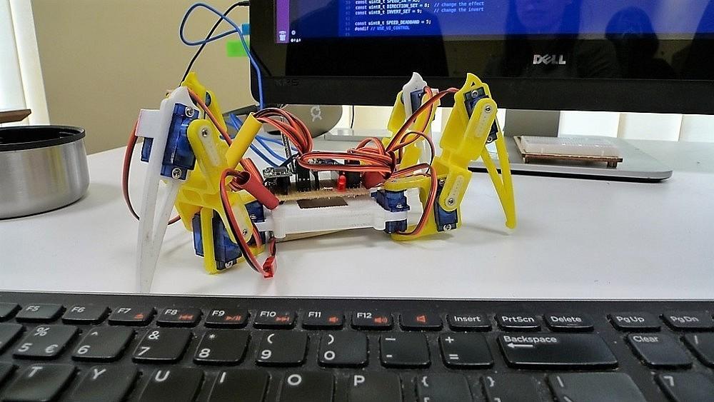 Kaipėdos jaunimas kviečiams pasimokyti robotų gamybos | Rengėjų nuotr.