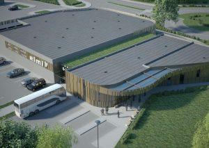 Trakų autobusų stoties projektinis pasiūlymas | sa.lt nuotr.
