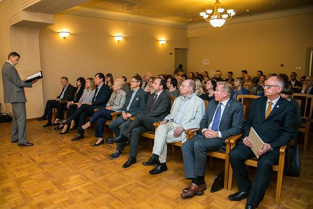 2018 metų Kalbos premija skirta Elenai Bradūnaitei-Aglinskienei | lrs.lt, O. Posaškovos nuotr.