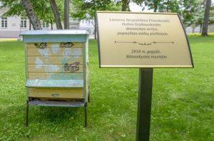 Prezidentės dovana – avilys Bitininkystės muziejui   Lietuvos Respublikos Prezidento kanceliarijos nuotr.