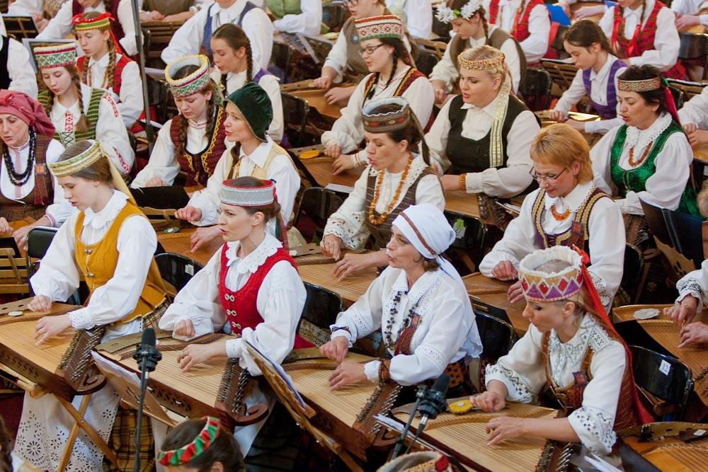 Dainų šventės Kanklių koncertas | LNKC nuotr.