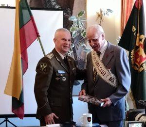 Pagerbta graži Lietuvos partizano V. Balsio-Uosio gyvenimo sukaktis | A. Grigaitienės nuotr.
