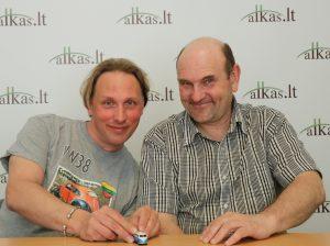 Andrius Biziulevičius ir Gerimantas Statinis | Alkas.lt nuotr.