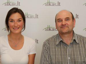 Ieva Kataldo (Cataldo) ir Gerimantas Statinis | Alkas.lt nuotr.