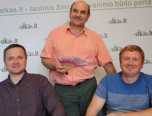 Valdas Stanaitis, Gerimantas Statinis ir Linas Klebauskas | Alkas.lt nuotr.