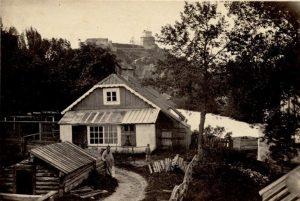 J. Čechavičiaus namas XIX a. | LMAVB Vrublevskių bibliotekos fondų nuotr.
