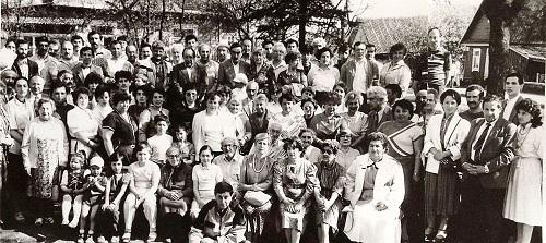 Lietuvos karaimai 1988m. buvo susirinkę į pirmą viešą bendruomenės susibūrimą Trakuose | bendruomenės nuotr.