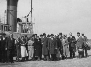 Lietuvos karo laivas Prezidentas Smetona. Šventoji, 1940 m. | Lietuvos jūrų muziejaus rinkinio nuotr.
