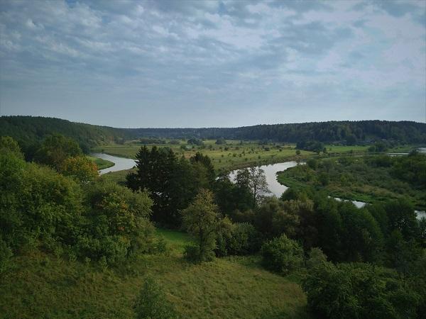Merkinės piliakalnis   Kelionių po Lietuvą portalas pamatykLietuvoje.lt nuotr.
