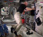 Tarptautinė kosminė stotis – trečias ryškiausias objektas danguje po Saulės ir Mėnulio   LRT nuotr.