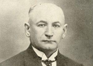 Klaipėdos krašto direktorijos pirmininkas Otas Biočeris (Otto Biotcheris) | Mažosios Lietuvos istorijos muziejaus nuotr.