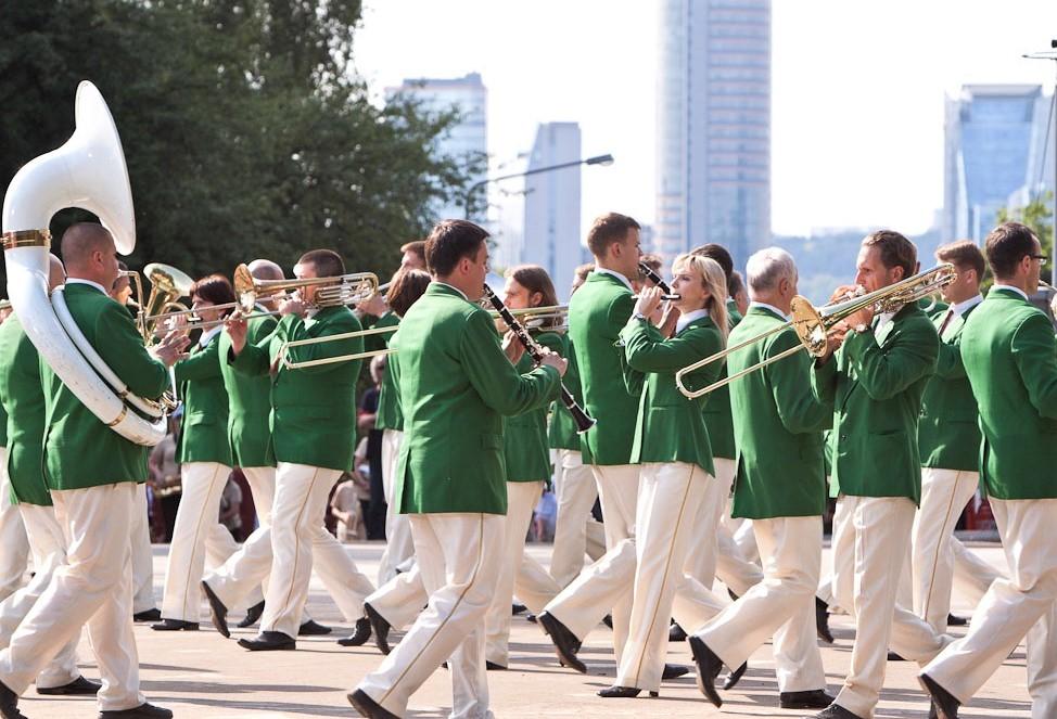 Pučiamųjų orkestrų koncertas   LNKC nuotr.