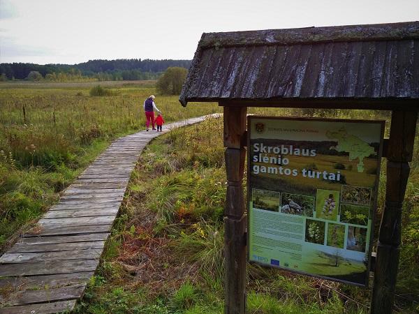 Skroblaus pažintinis takas   Kelionių po Lietuvą portalas pamatykLietuvoje.lt nuotr.