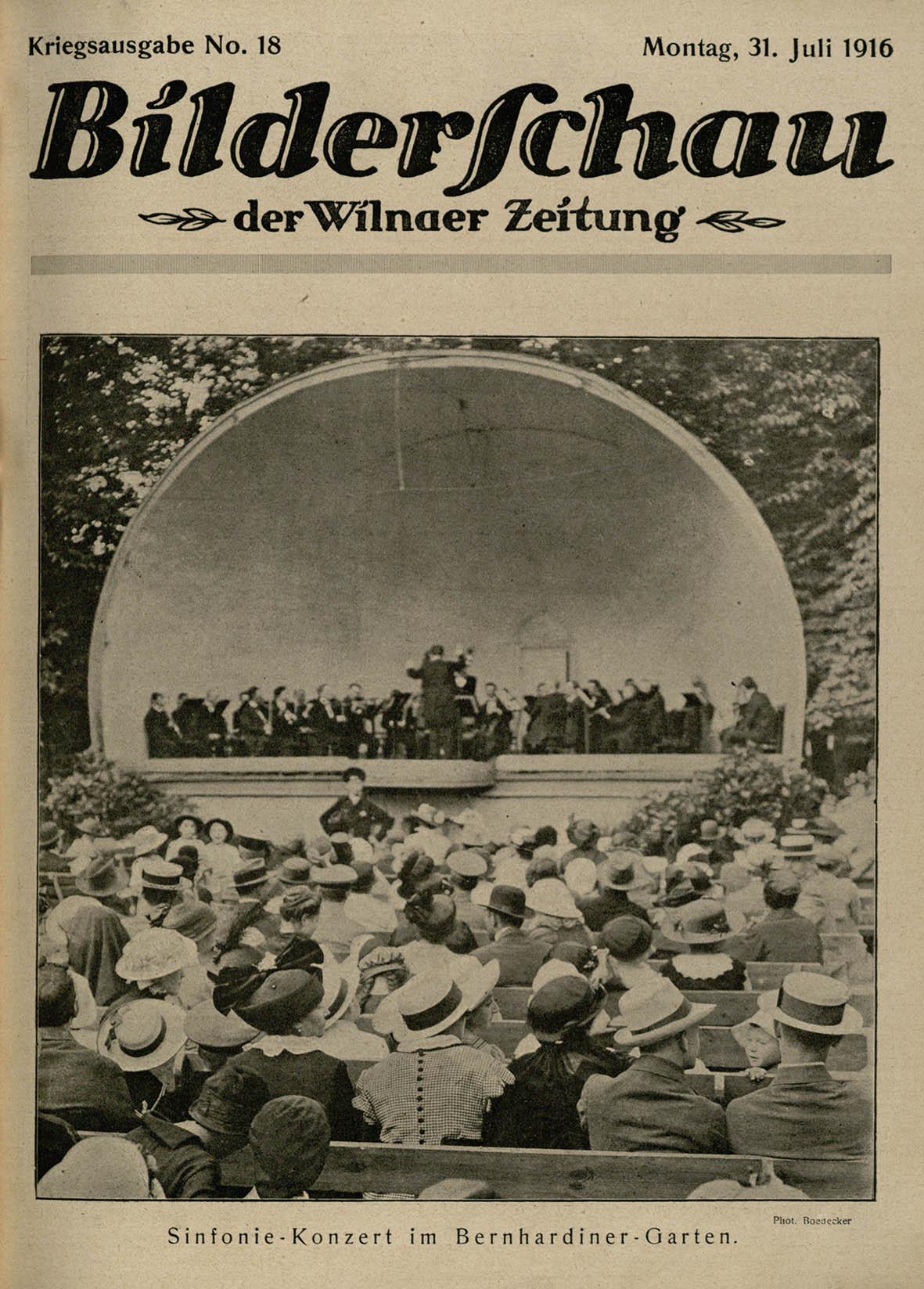Sodai bei aikštės. Simfoninis koncertas Bernardinų sode   L. Boedeckerio nuotr.