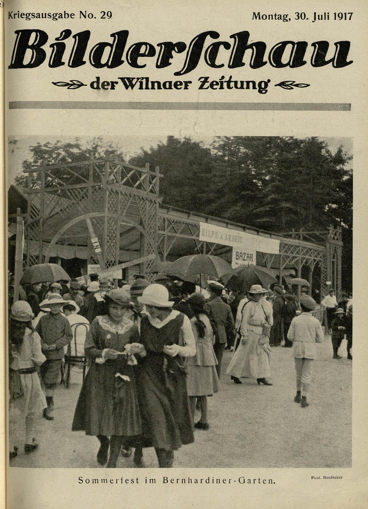 Sodai ir aikštės. Vasaros šventė Berndardinų sode   L. Boedeckerio nuotr.