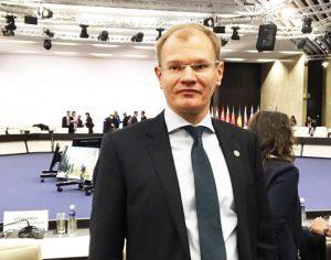 Užsienio reikalų viceministras Albinas Zananavičius | urm.lt nuotr.