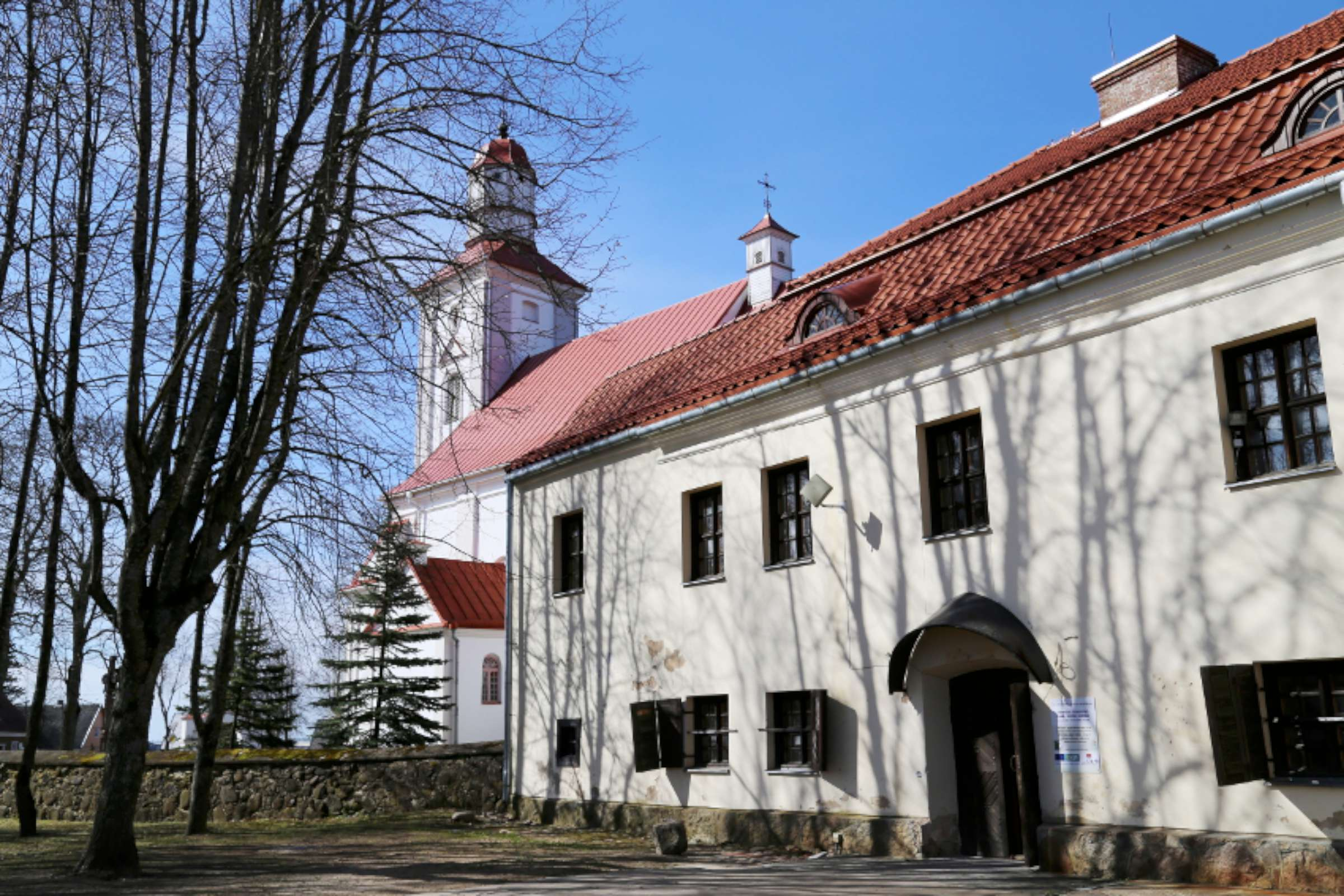 Videniškių buvęs atgailos kanauninkų vienuolynas ir Šv. Lauryno bažnyčia | Rengėjų nuotr.