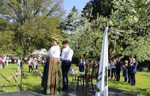 Obelynėje skambėjo himnai gegutei, pavasariui ir jaunystei | Kauno rajono savivaldybės nuotr.