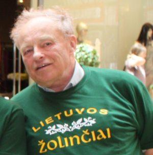 82 m. biomedicinos mokslų daktaras Jonas Skonsmanas   Lietuvos sveikuolių sąjungos nuotr.