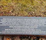 A. Ramanausko-Vanago suimties vietai pažymėti skirtas paminklas_  V. Striužo nuotr.