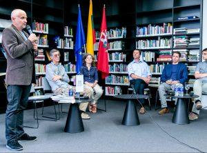 "Diskusija ""Politikos virsmas istorija: Sąjūdžiui 30"" | lnb.lt nuotr."