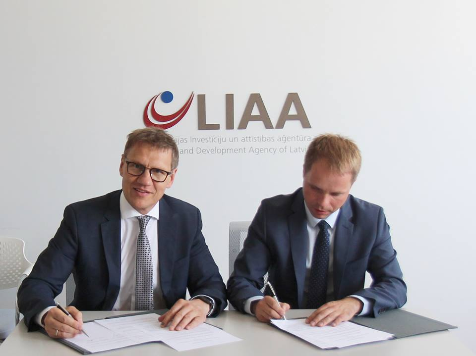 Latvijos investicijų ir plėtros agentūra (LIAA) ir Lietuvos Mokslo, inovacijų ir technologijos agentūra (MITA) pasirašė bendradarbiavimo susitarimą | Rengėjų nuotr.