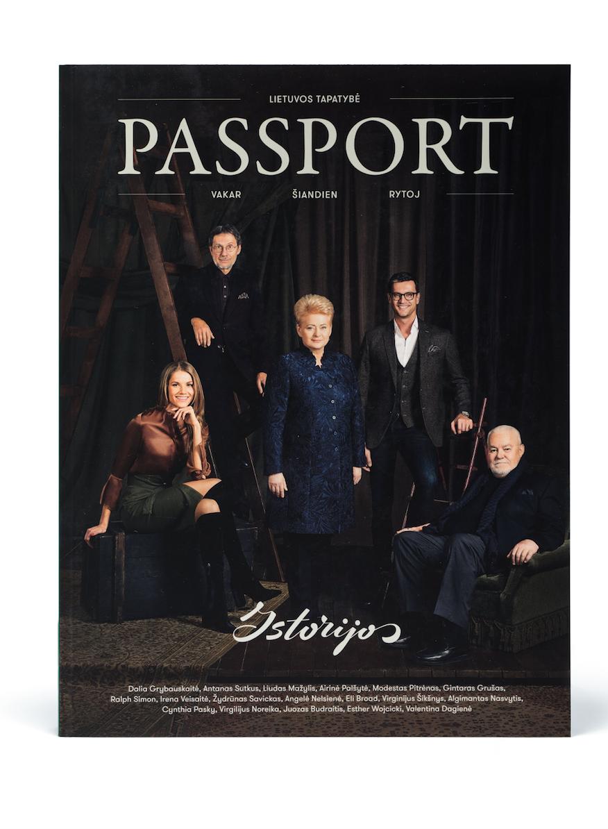 """Kęstučio Pikūno leidinio """"Passport Journal"""" antrasis tomas   """"Passport Journal"""" nuotr."""