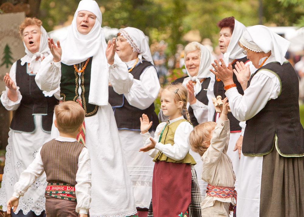Lietuvos dainų šventė: Folkloro diena | LNKC nuotr.
