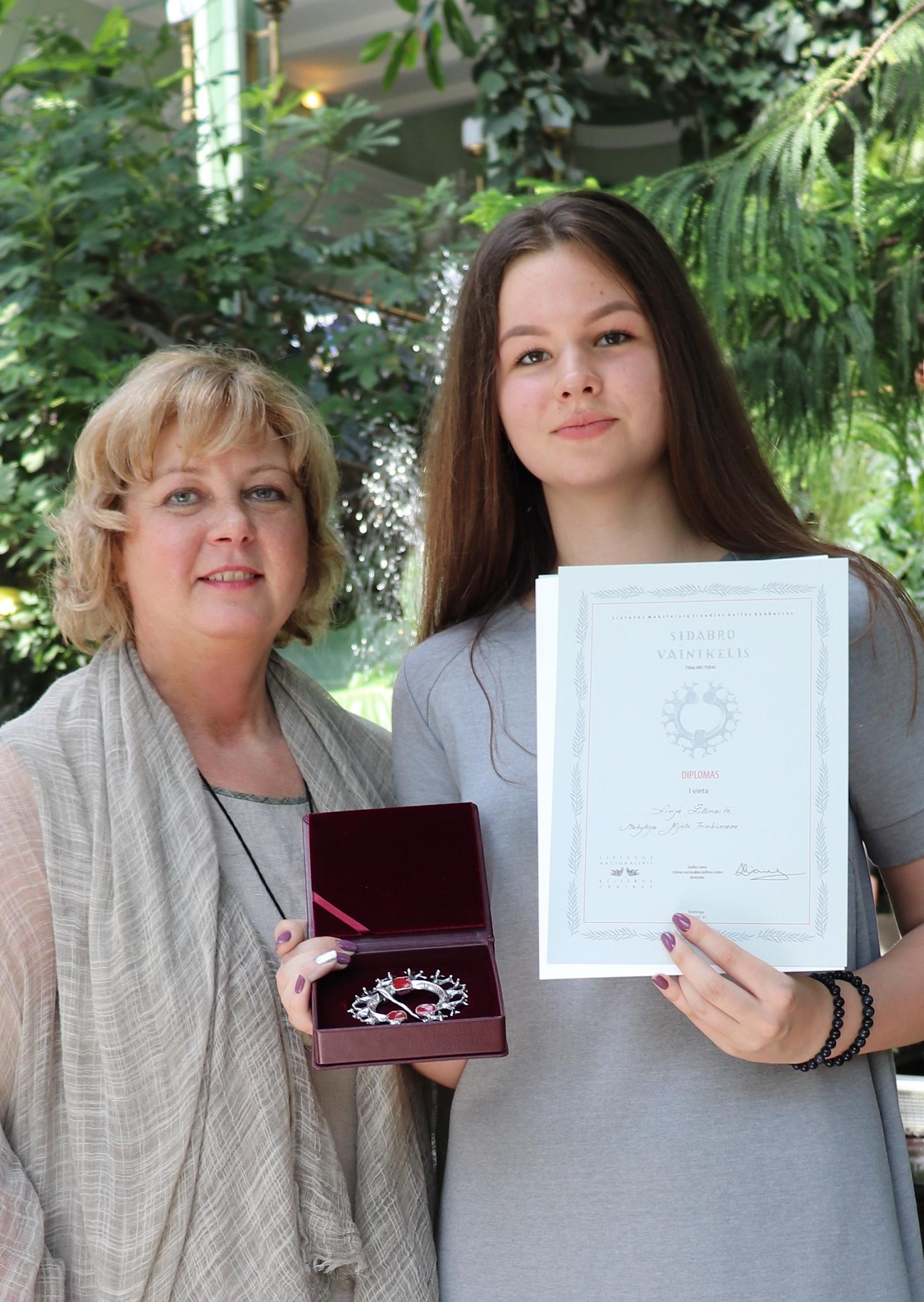Ignalinos kultūros ir sporto centro Dailės studijos mokinė Livija Žilėnaitė