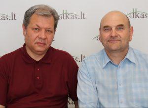 Adas Jakubauskas ir Gerimantas Statinis | Alkas.lt nuotr.