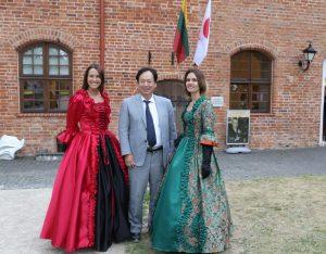 Japonijos ambasadorius Kauno rajono turizmo ir verslo informacijos centre | Kauno ra.j sav. nuotr.