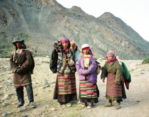 Jurga Ivanauskaitė. Tibetas, 1998 m. | freetibet.lt nuotr.
