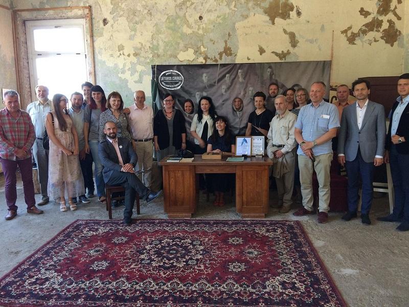 Valstybinė kultūros paveldo komisijos išvažiuojamojo posėdžio dalyviai | Valstybinės kultūros paveldo komisijos nuotr.