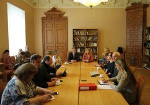 Kultūros ministerijoje įvyko Kultūros ir meno tarybos posėdis | lrkm.lt nuotr.
