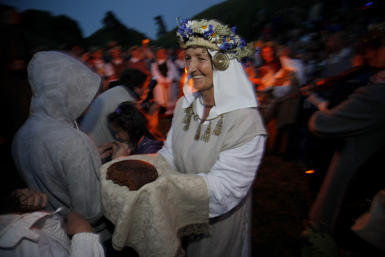 Rasos šventė Verkių parke | Alkas.lt, V. Daraškevičiaus nuotr.