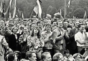 Sąjūdžio mitingas 1988m. | L.Skirpsto nuotr.
