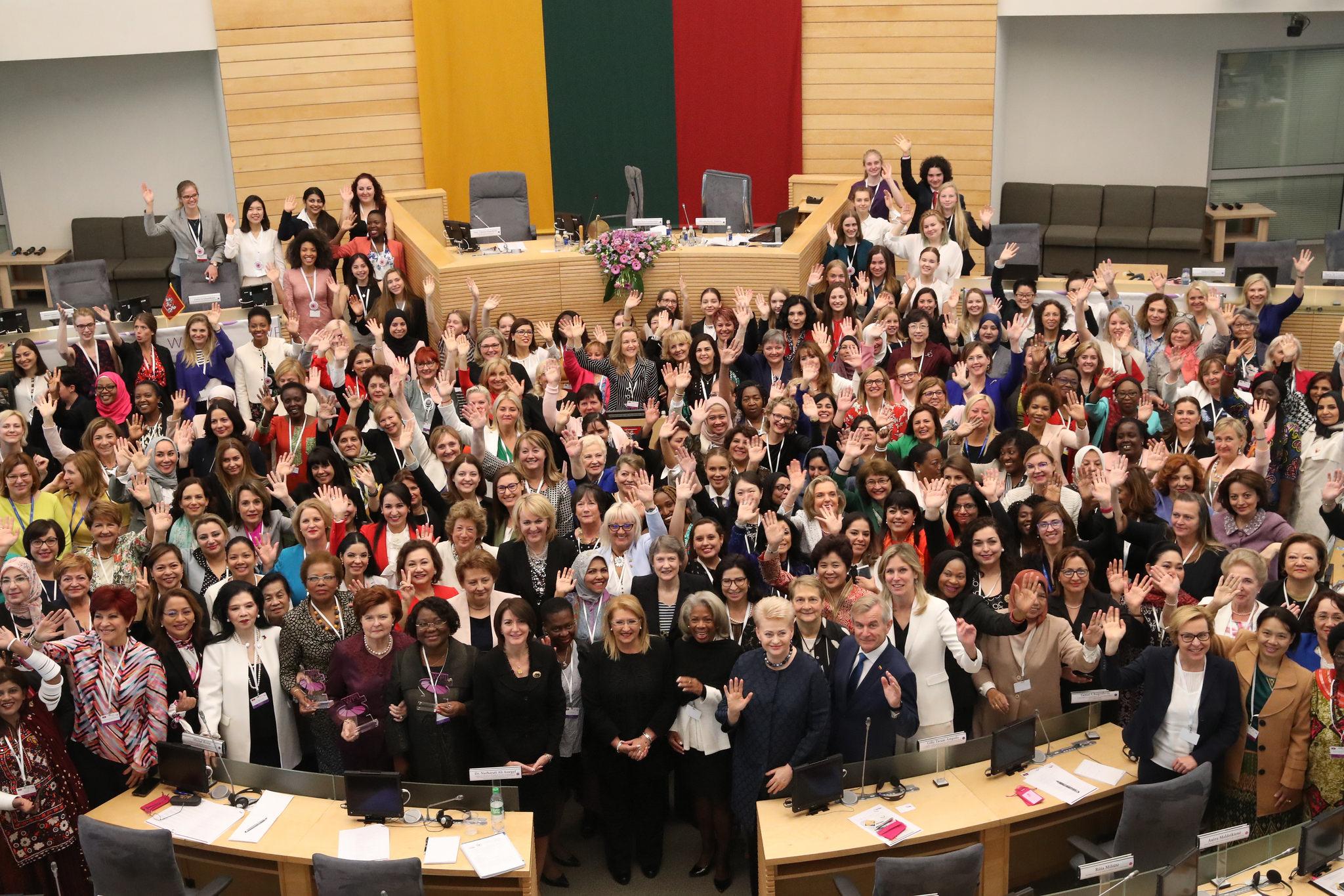 Moterų politikos lyderių suvažiavimas | Seimo kanceliarijos nuotr.