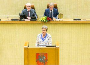 Vida Marija Čigriejienė | lrs.lt nuotr.
