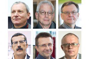 Šešiems Vilniaus universiteto mokslininkams suteiktas prestižinis išskirtinių profesorių vardas | VU nuotr.