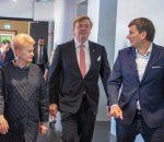 Prezidentė ir Nyderlandų Karalius dalyvauja dvišaliame energetikos forume | lrp.lt nuotr.
