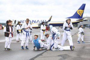 Ant Palangos oro uosto tako – kova dėl karatė diržo | Rengėjų nuotr.