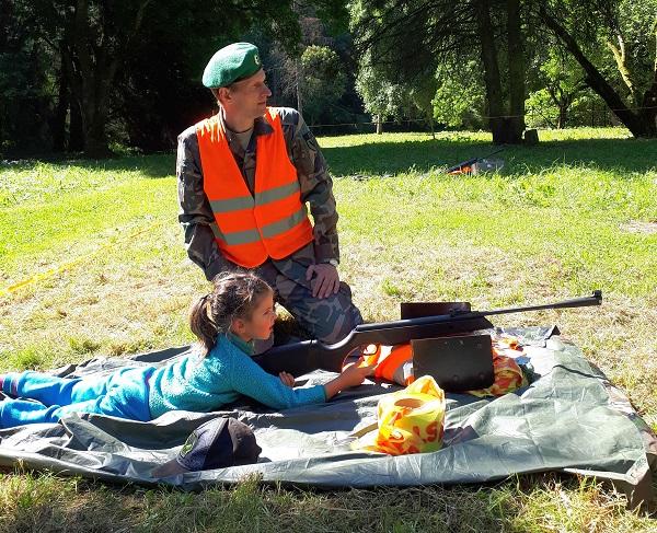 Obelynėje stovyklavo šauliai   Kauno rajono savivaldybės nuotr.