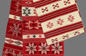 Tradicinis baltarusiškas rankšluostis | Krasnapolės apylinkės nuotr.