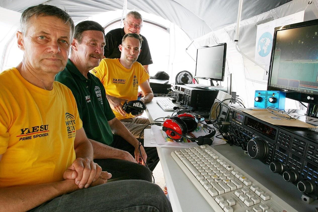 KTU radijo sportininkai – pasaulio trumpųjų bangų radijo ryšio čempionai   Kauno technologijos universiteto nuotr.