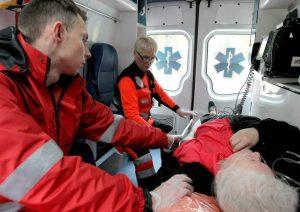 Pirmieji Lietuvoje kvalifikuoti Skubios medicinos medikai jau pradeda savo darbą | E. Šemioto, Asociatyvi nuotr.