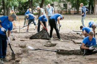Archeologai tyrinėja Vilniaus didžiąją sinagogą | S Žiūros nuotr.