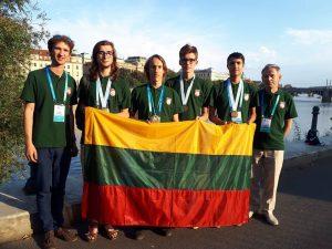 Lietuvos mokiniai tarptautinėje Chemikų olimpiadoje Slovakijoje ir Čekijoje | lmnsc.lt nuotr.