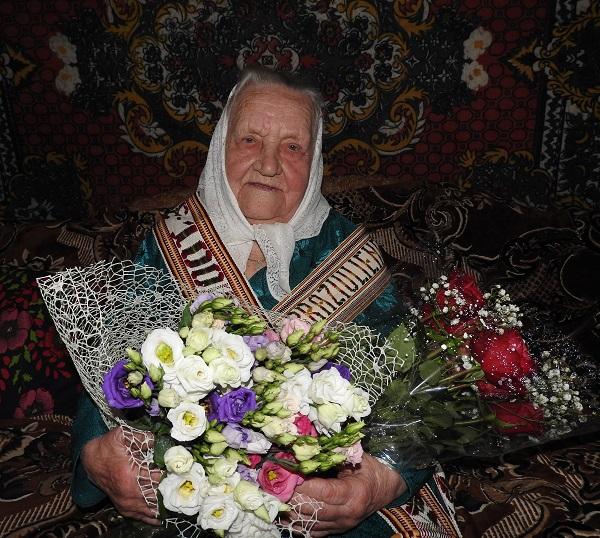 Pasveikinta šimtametė Dūkšto seniūnijos gyventoja | Ignalinos rajono savivaldybės nuotr.