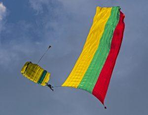 Parašiutininkas | Alkas.lt, A. Sartanavičiaus nuotr.